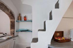A bathroom at Zoe Aegeas