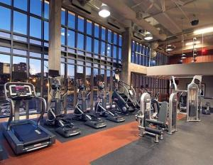 The fitness center and/or fitness facilities at Two-Bedroom on H 77
