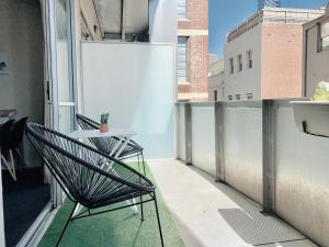 A balcony or terrace at The Oasis by ZEN Homes, Melbourne CBD
