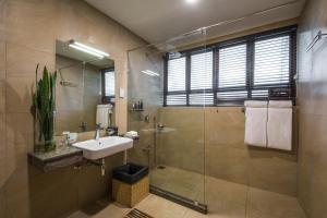Een badkamer bij Anasa Wellness Resort