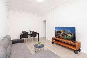A television and/or entertainment center at Newly Renovated Apt. Close to Sydney CBD - Unit 1