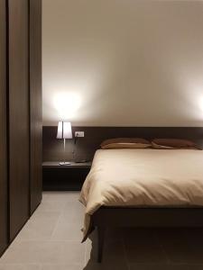 Ein Bett oder Betten in einem Zimmer der Unterkunft AREA 19