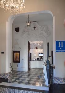 El vestíbulo o zona de recepción de Hotel Boutique Convento Cádiz