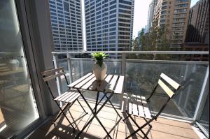 A balcony or terrace at Alora Apartment in Sydney CBD - Darling Harbour