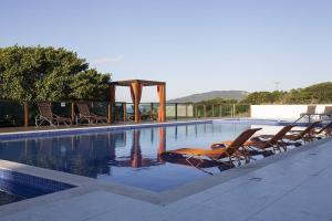 The swimming pool at or close to Hotel Aquamar Ingleses