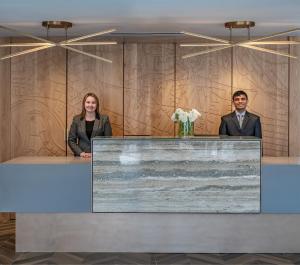 Staff members at Harvard Square Hotel