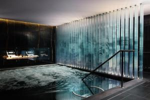 The swimming pool at or near Corinthia London