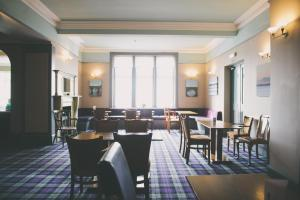 A restaurant or other place to eat at The Powfoot Hotel, Annan
