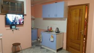 Кухня или мини-кухня в Апартаменты Аленка на 7-й Садовой площадке, 1