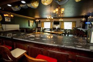 A kitchen or kitchenette at Hearthstone Inn Boutique Hotel Halifax-Dartmouth