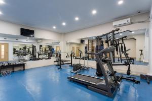 Фитнес-центр и/или тренажеры в Отель Европа