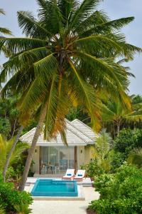The swimming pool at or close to Kandima Maldives