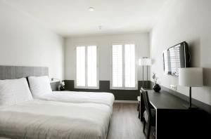 Letto o letti in una camera di Fletcher Hotel - Restaurant Nautisch Kwartier