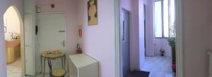 A bathroom at Hotel San Tomaso
