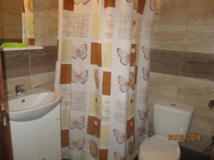 Ένα μπάνιο στο Tassos Apartments