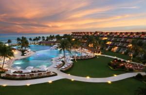 A view of the pool at Grand Velas Riviera Maya - All Inclusive or nearby