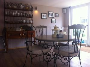 The lounge or bar area at The Coach House B&B