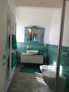 A bathroom at Casa Mosaico