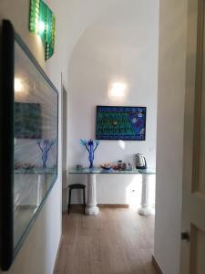 A television and/or entertainment center at Casa Mosaico