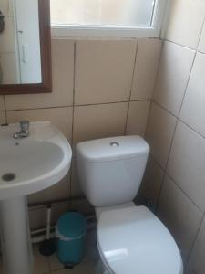 A bathroom at lordshiplane shared house