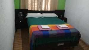 Cama o camas de una habitación en Casa La Norma