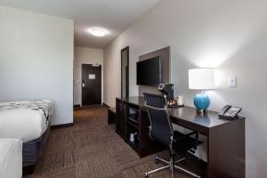 TV/Unterhaltungsangebot in der Unterkunft Sleep Inn & Suites Tampa South