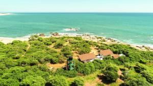 Blick auf Nil Sisila Beach Resort Yala aus der Vogelperspektive