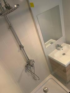 A bathroom at Appartement