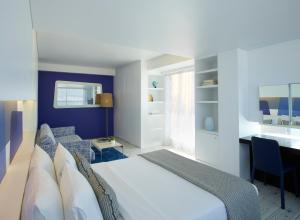 Ein Bett oder Betten in einem Zimmer der Unterkunft Hotel Fresh