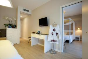 TV o dispositivi per l'intrattenimento presso Hotel Mediterraneo Spa and Wellness