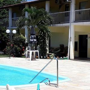 The swimming pool at or close to Chiveve Lagoa da Banana
