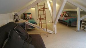 Un ou plusieurs lits superposés dans un hébergement de l'établissement 29 color'appart