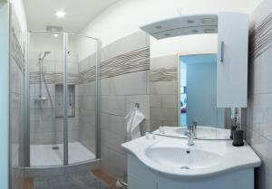 Ein Badezimmer in der Unterkunft Csery