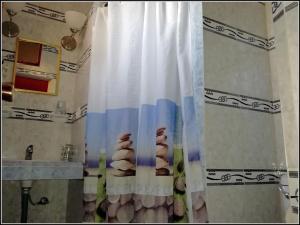 Salle de bains dans l'établissement Villa Manuela
