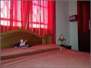 Un ou plusieurs lits dans un hébergement de l'établissement Villa Manuela