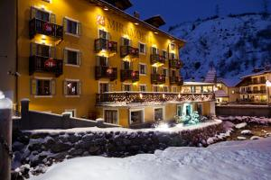 Le Miramonti Hotel & Wellness during the winter