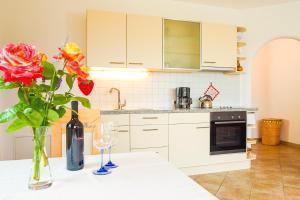 Küche/Küchenzeile in der Unterkunft Weingut & Apartments Weitgruber Raffeis