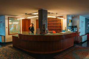The lobby or reception area at Residence Hotel Torino Uno
