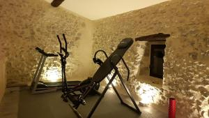The fitness center and/or fitness facilities at Domaine De Pradaous