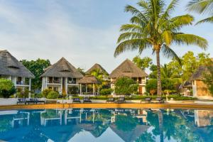 The swimming pool at or near Filao Beach Zanzibar