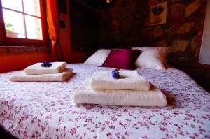 Postel nebo postele na pokoji v ubytování Apartmán Lavander