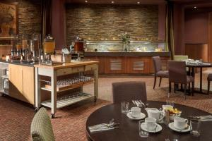 A restaurant or other place to eat at Doubletree By Hilton Glasgow Westerwood Spa & Golf Resort