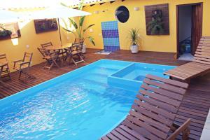 The swimming pool at or near Pousada Maravilha de Paraty