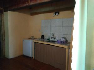 Una cocina o kitchenette en Mocona Guazu