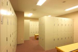A bathroom at Hotakasou Club