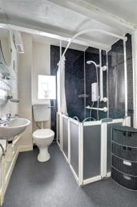 A bathroom at Coedpoeth