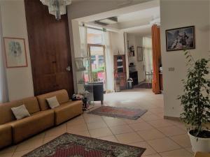 Area soggiorno di Hotel Ausonia