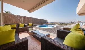 The swimming pool at or near Villa Med