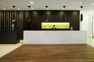 The lobby or reception area at Atlantic Congress Hotel Essen
