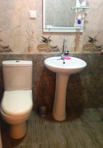 A bathroom at Goga's Apartment